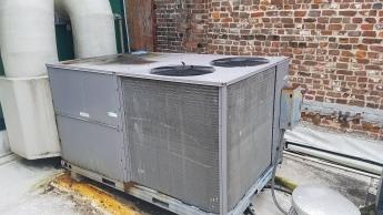 Standard RTU on a roof